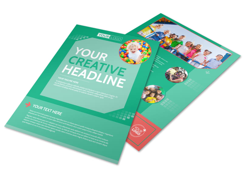 Drop-in Daycare Flyer Template