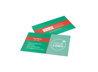 Drop-in Daycare Business Card Template