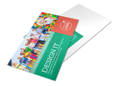 Drop-in Daycare Postcard Template