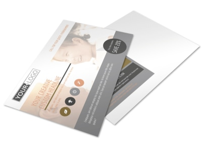 International Adoption Agency Postcard Template preview