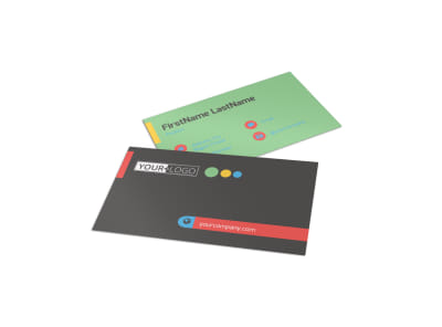 Good Times Daycare Business Card Template