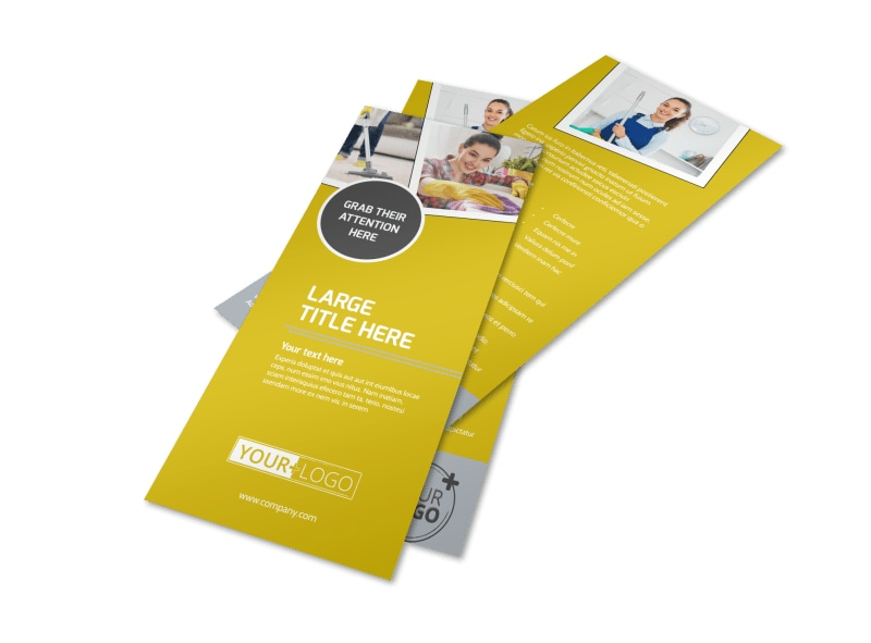 Housekeeping Service Flyer Template