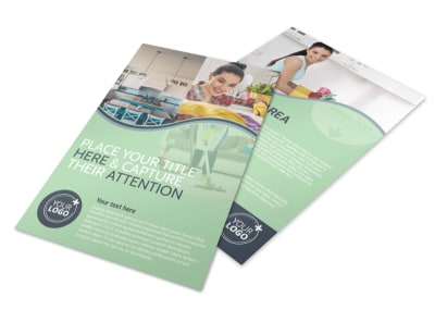 House Cleaning Flyer Template preview