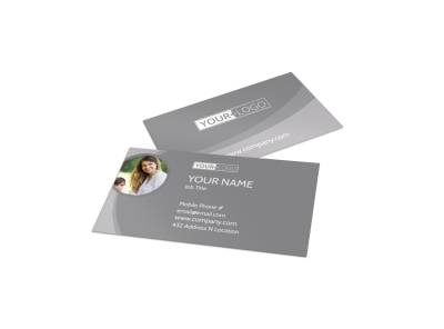 Carpet & Upholstery Cleaners Business Card Template preview