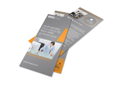 Commercial Cleaning Solutions Flyer Template