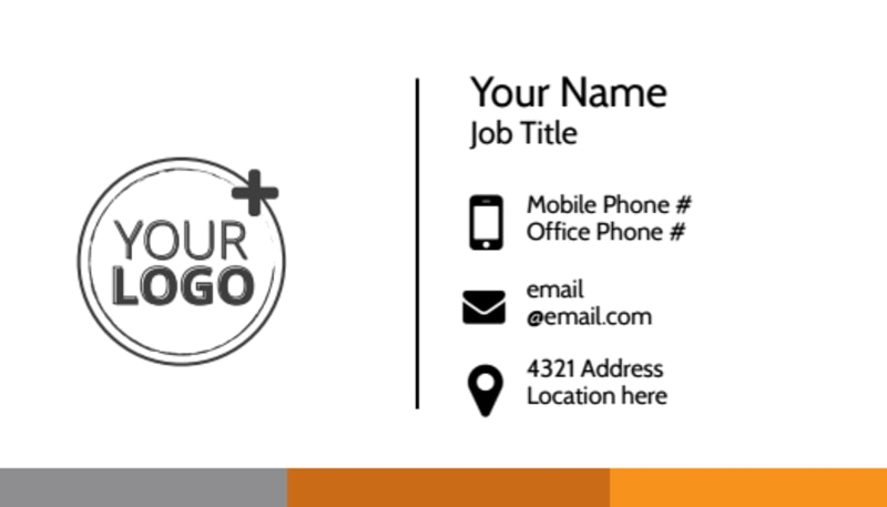 Commercial Cleaning Solutions Business Card Template Preview 2