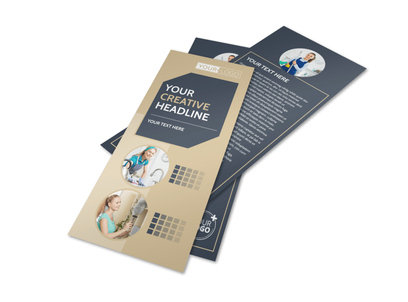 Commercial Cleaning Professionals Flyer Template Preview 1