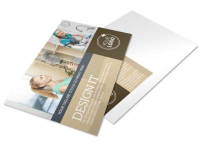 Commercial Cleaning Professionals Postcard Template preview