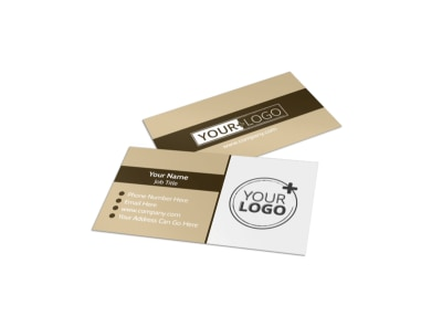 Commercial Cleaning Professionals Business Card Template preview
