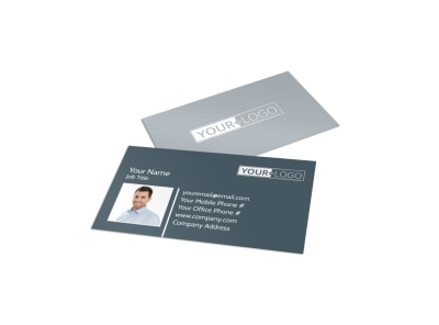 Local Dry Cleaners Business Card Template preview