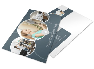 Office Cleaners Postcard Template preview