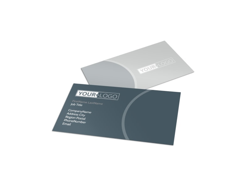 Office Cleaners Business Card Template