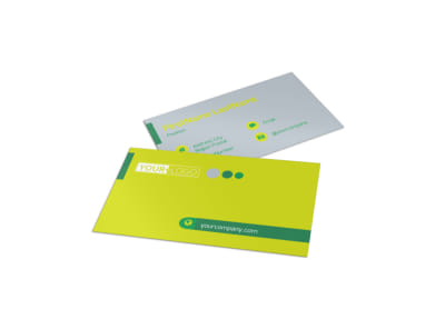 Bright Shine Cleaners Business Card Template preview