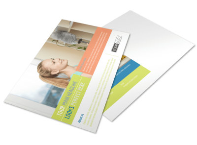 Completely Clean Postcard Template preview