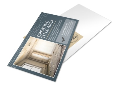 Construction & Remodeling Company Postcard Template preview