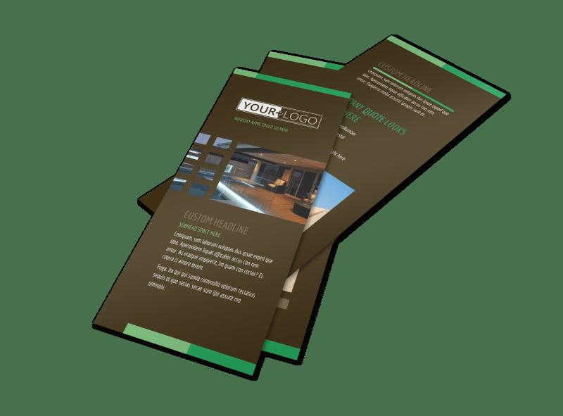 Backyard Construction Flyer Template Preview 1