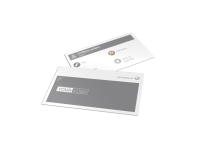 Commercial Construction Pros Business Card Template preview