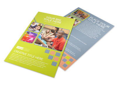 Creative Art Class Flyer Template