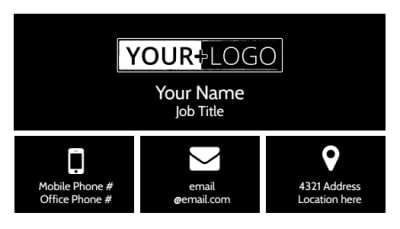 Creative Tattoo Artist Business Card Template Preview 1