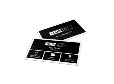 Creative Tattoo Artist Business Card Template preview