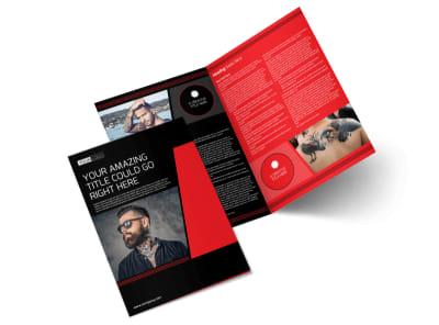 Local Tattoo Parlor Bi-Fold Brochure Template preview