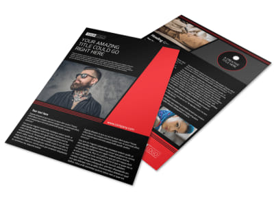 Local Tattoo Parlor Flyer Template