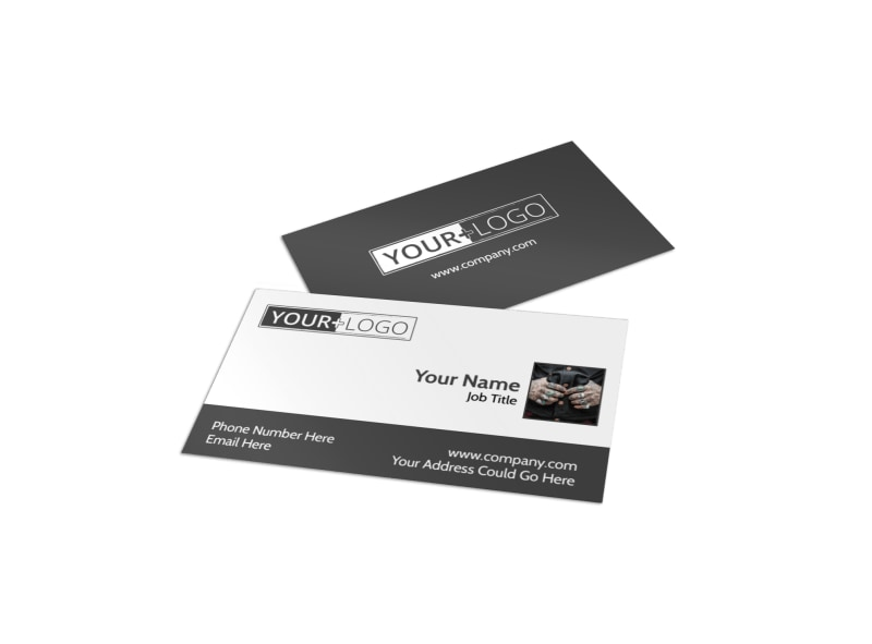 Professional Tattoo Artist Business Card Template