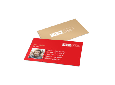 Voice Lessons Business Card Template preview