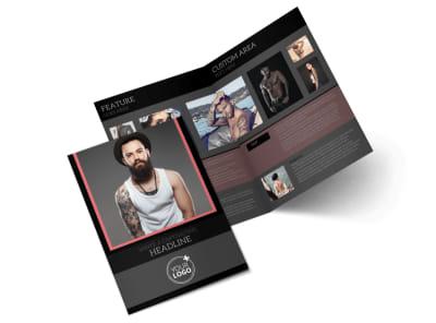 Custom Ink Tattoos Bi-Fold Brochure Template preview