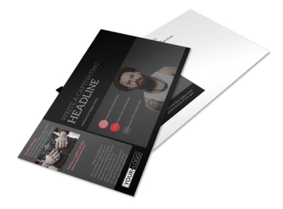 Custom Ink Tattoos Postcard Template preview