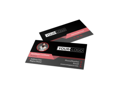 Custom Ink Tattoos Business Card Template preview