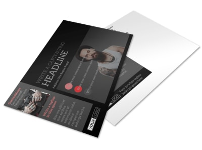 Custom Ink Tattoos Postcard Template