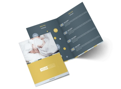 Newborn Photography Bi-Fold Brochure Template