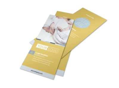 Newborn Photography Flyer Template preview