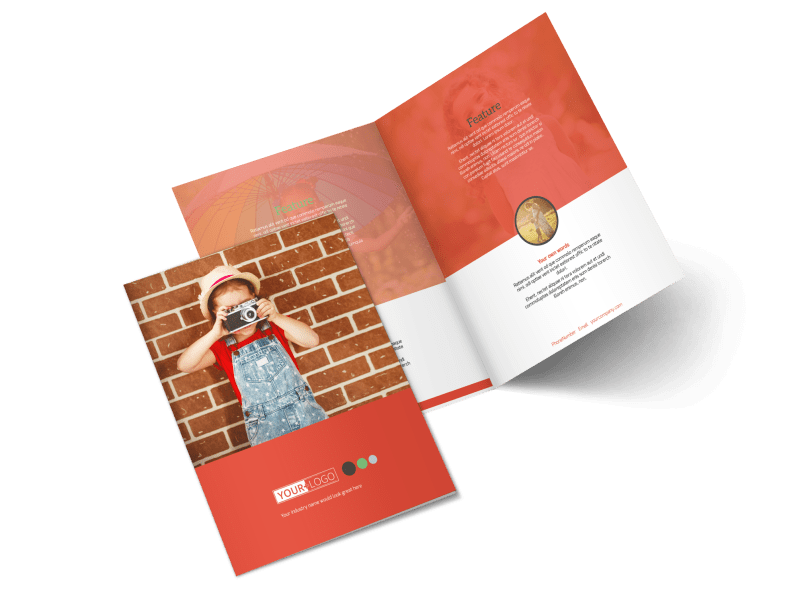 Toddler Photography Brochure Template Preview 1