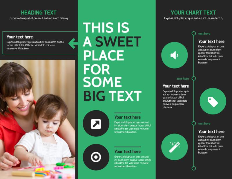 Child Development Center Brochure Template Preview 3