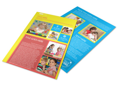 Bright Futures Learning Center Flyer Template