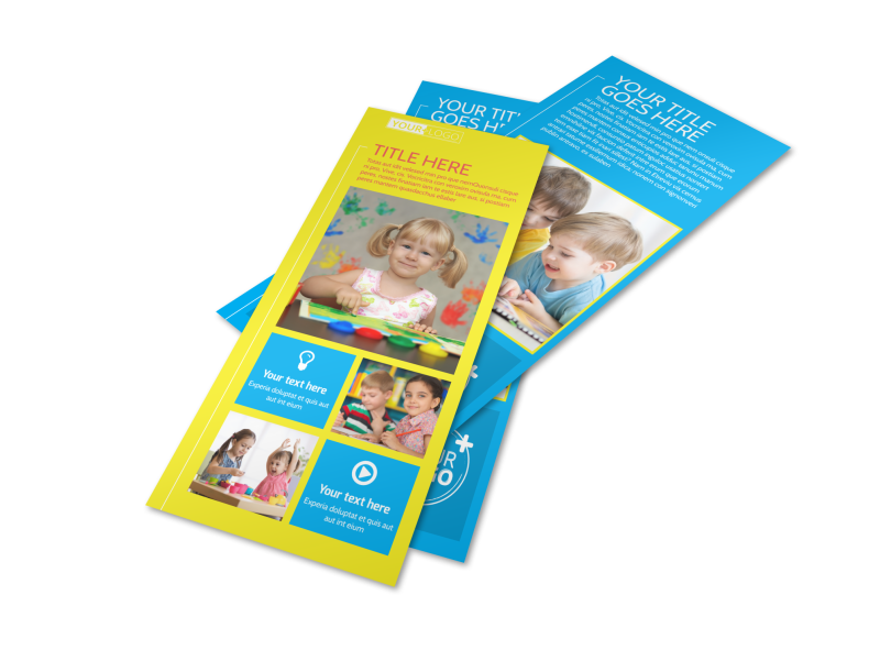 Bright Futures Learning Center Flyer Template Preview 1