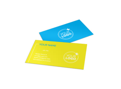 Bright Futures Learning Center Business Card Template
