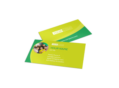 Child Care Learning Center Business Card Template