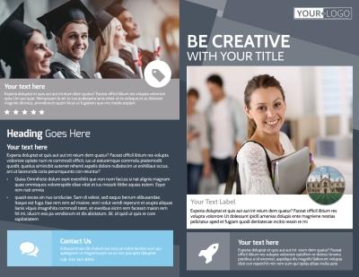Private College Brochure Template Preview 1