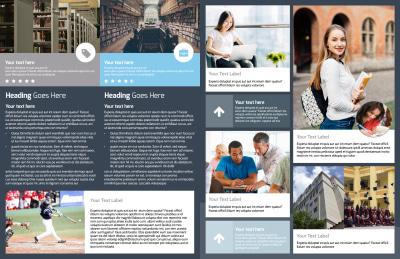 Private College Brochure Template Preview 2