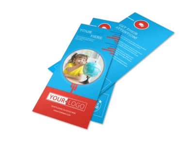 Child Learning Center Program Flyer Template preview