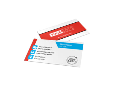 Child Learning Center Program Business Card Template preview