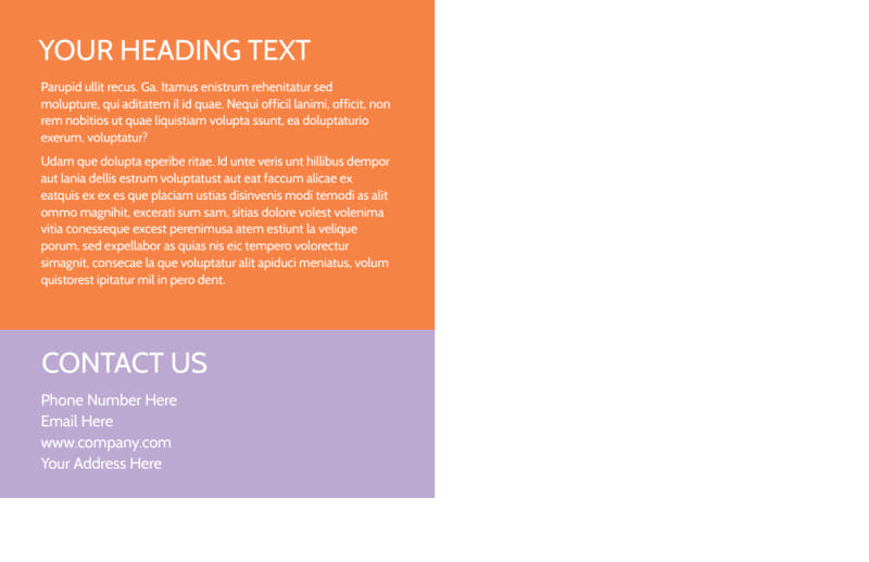 Child Learning Center Postcard Template Preview 3