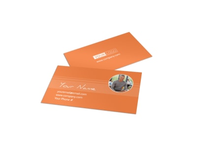 Child Learning Center Business Card Template preview