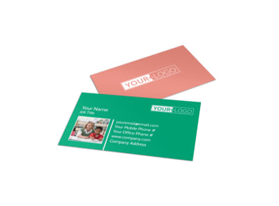 Child Learning Facility Business Card Template preview
