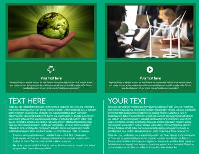 Renewable Energy Brochure Template Preview 2