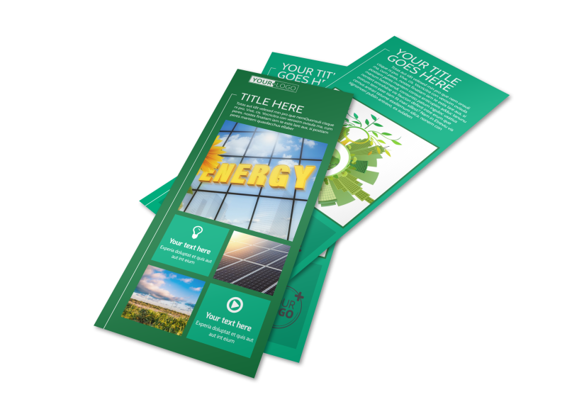 Renewable Energy Flyer Template Preview 1