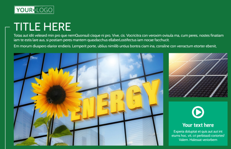 Renewable Energy Postcard Template Preview 2